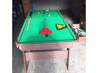 Pool and Snooker Table - Perfect for Children!