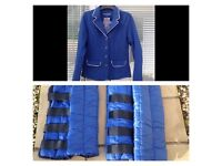 Horse/pony riding/equestrian jacket/travel boots