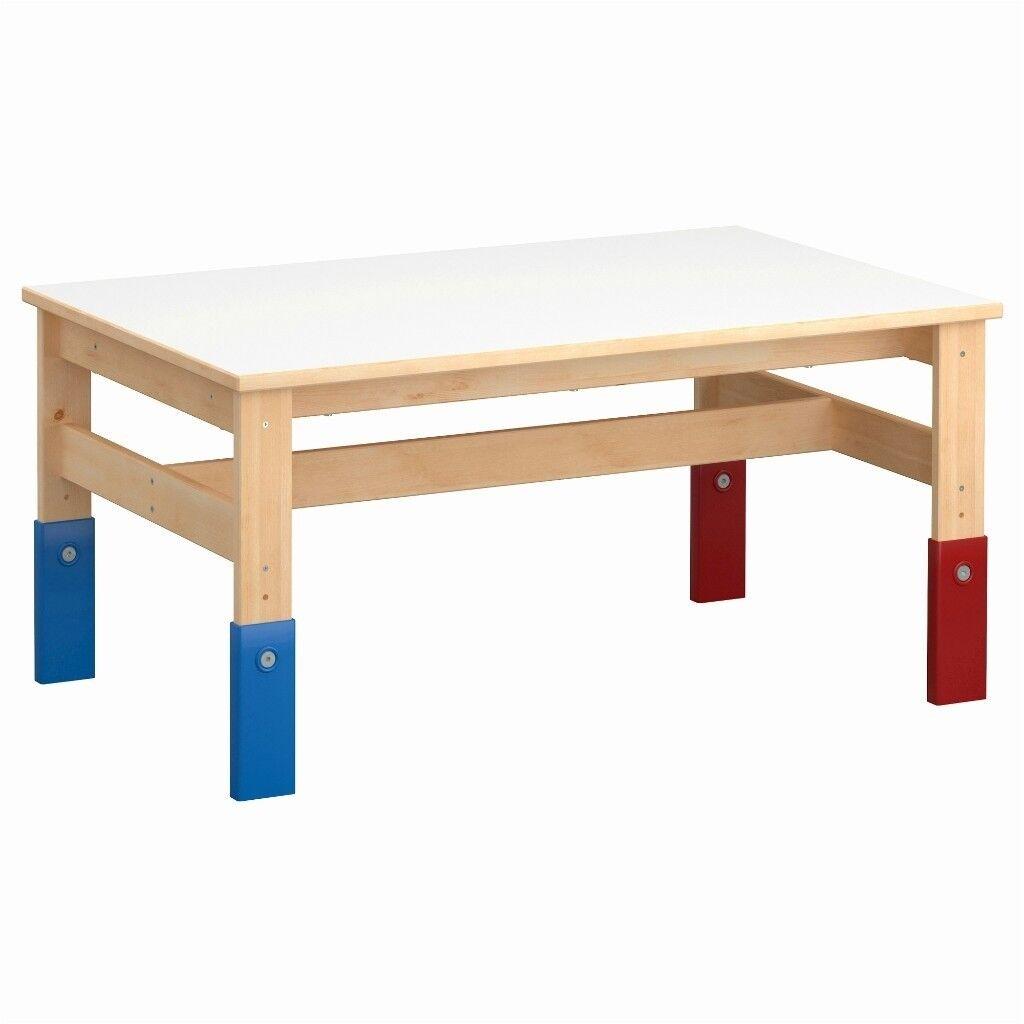 ikea sansad childrens kids height adjustable table in blackhall edinburgh gumtree. Black Bedroom Furniture Sets. Home Design Ideas