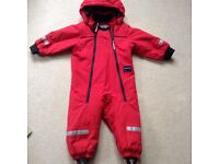 Polarn o pyret all in one suit 1-1.5 yrs
