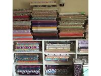 Wholesale designer cotton fabric closed down cheaper than cost price. Dress making crafts etc