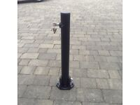 Driveway security posts
