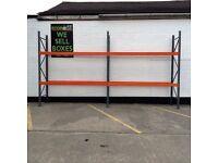 Dexion speedlock pallet racking 1750x900x2730mm £156.00 + VAT (£187.20 INC VAT)