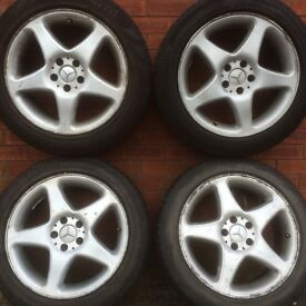 18 inch Mercedes Benz Vito Alloy Wheels & Tyres suit ml gl gle 5x112 stud pattern alloys rims