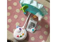Fisher Price Projecter / Cot Mobile with remote