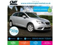 Seat Ibiza 1.6 TDI CR SE SportCoupe 3dr Good / Bad Credit Car Finance