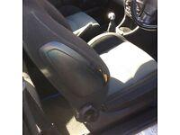 Peugeot 206cc 2003 2.0l black