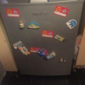 Silver BEKO fridge £20
