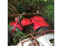 Honda atc trike 110cc parts or spares or restoration