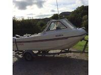 Seahog trooper fishing boat