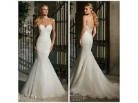 Stunning Mori Lee Wedding Dress 2713 - UK size 10/12 - Ivory