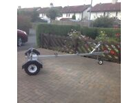 Small Dinghy trailer for sale