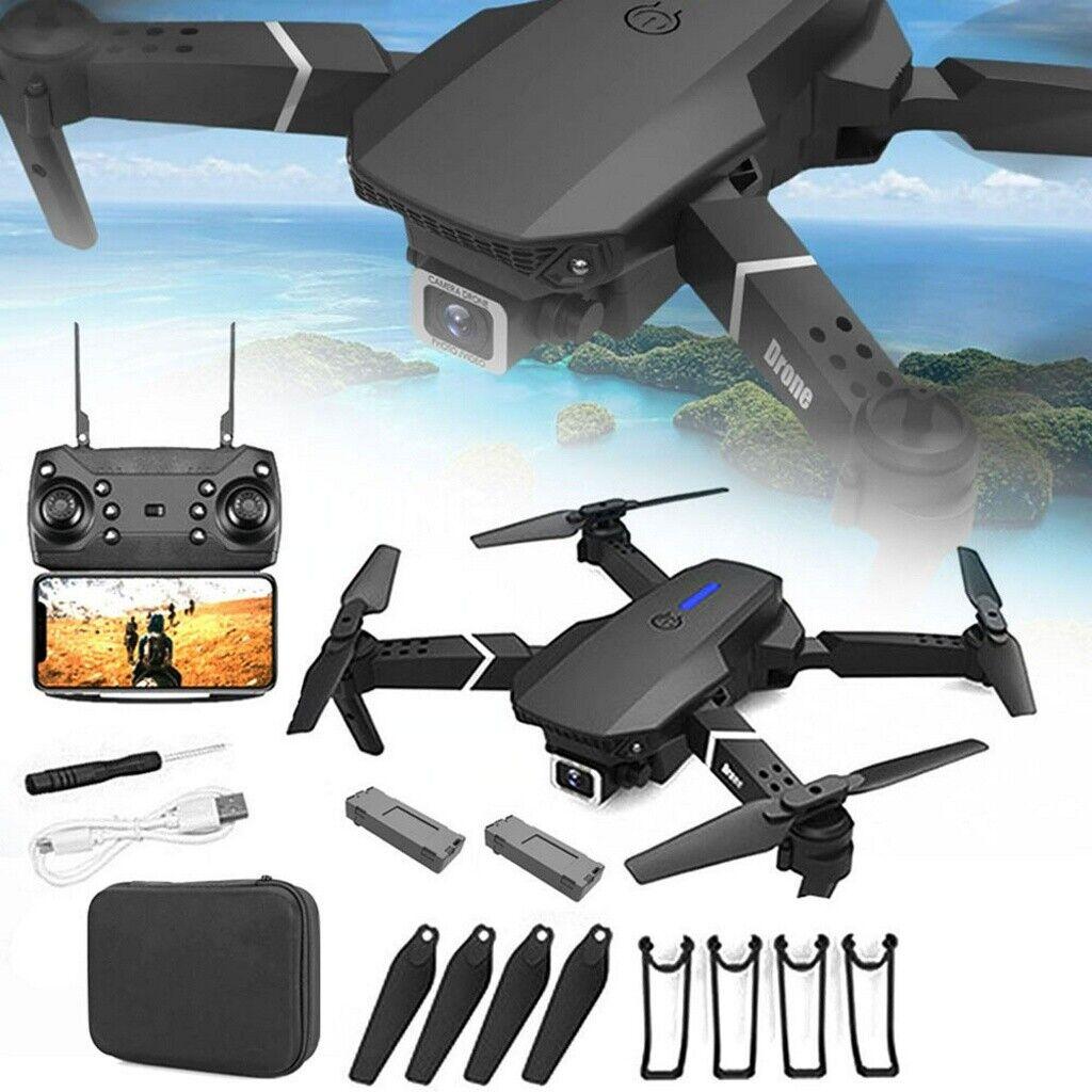 Mini Faltbar WIFI Drohne Mit 720P HD Kamera Quadrocopter RC Drone Selfie FPV DHL