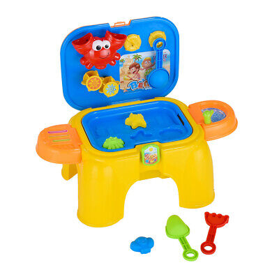 16PCS Children's Toy Stool Game Table Summer Beach Toy Sandg