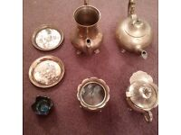 Copper Teapot Jug Batch Lott