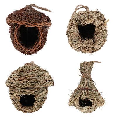 Bird Nest Breeding Nest Birds Box Wild Grass Weave Canary Finch Budgie (Finch Nest)