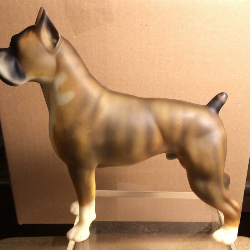 Breyer Pug Boxer Dog Chocolate brown w/ Brindle Striping #322 1995 -1996 NO BOX