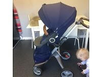 Stokke xplory v4 seat and textiles v3 chassis