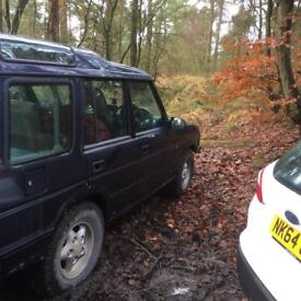 Breaking Land Rover Discovery auto 300tdi air con