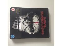 3D & 2D Planet of the Apes dvd