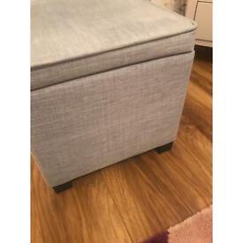 Small storage/ foot stool