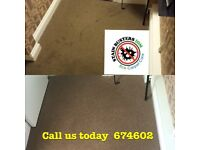 Carpet cleaning Isle of Man - dry in 30 mins - cleans , odor treats and stain guards all in one