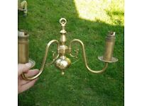 a pair of beautiful wall light fittings