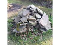 York stone. Sold as lot.