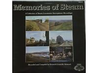 Steam Locomotive Sounds - Memories Of Steam - Kenneth Granvill Attwood - LP MINT-