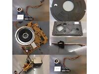 Technics parts 1210 1210s sl1210 Sl-1210 mk2 1210mk2 tone arm pitch platter chassis facia