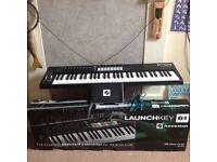 Novation launchkey 61 usb keyboard. Boxed never used.