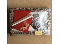 SOUTH AFRICAN (FABRIC) TABLE MATS AND NAPKINS
