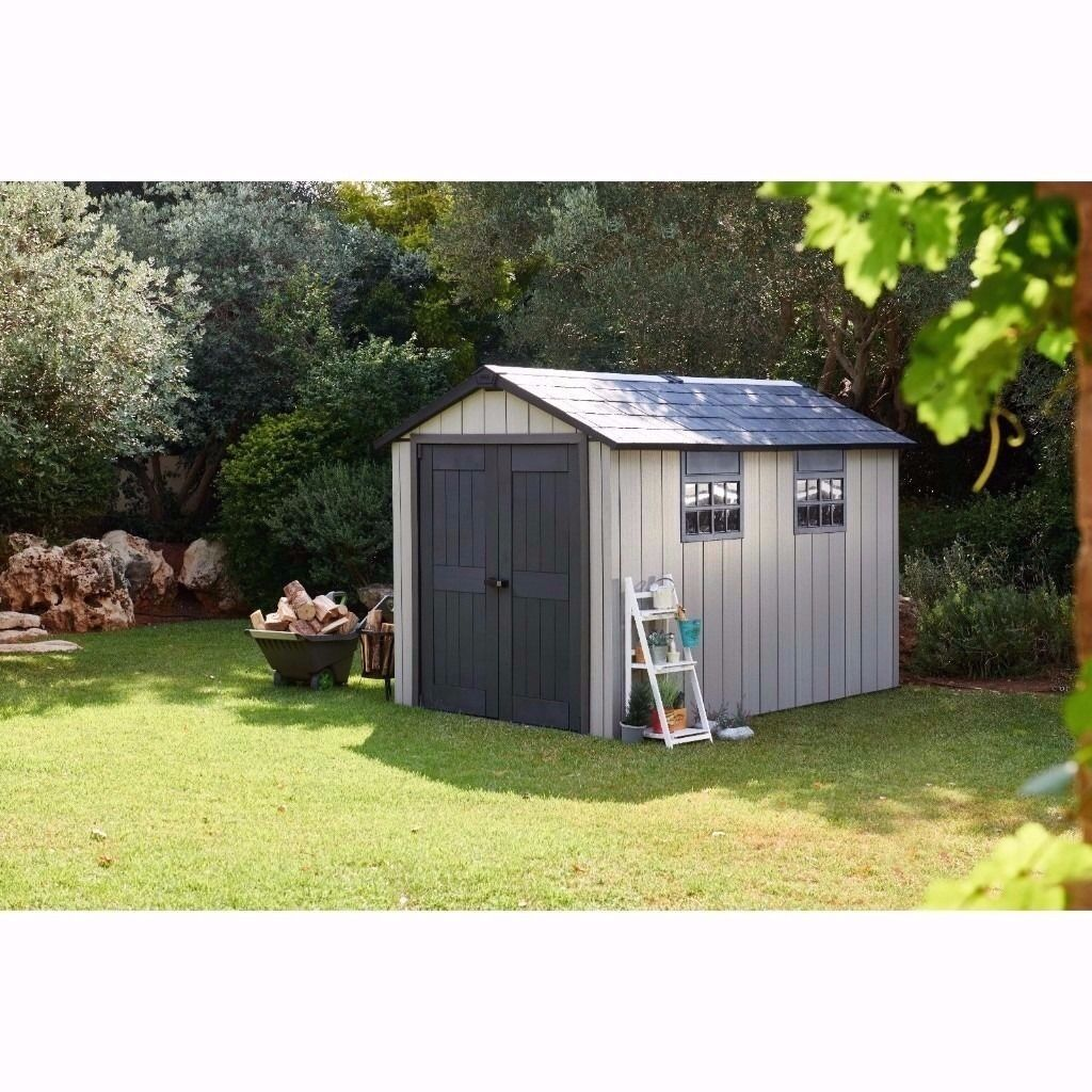 Perfect Keter Oakland Garden Shed 7.9x11.4