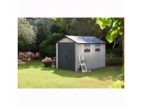 Only 4 Left !! HURRY !! Keter Oakland Garden Shed 7.9x11.4 / 2.3mx3.5m RRP £1000+ CHEAPEST In UK!!!