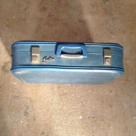 Vintage / Retro Suitcase Blue