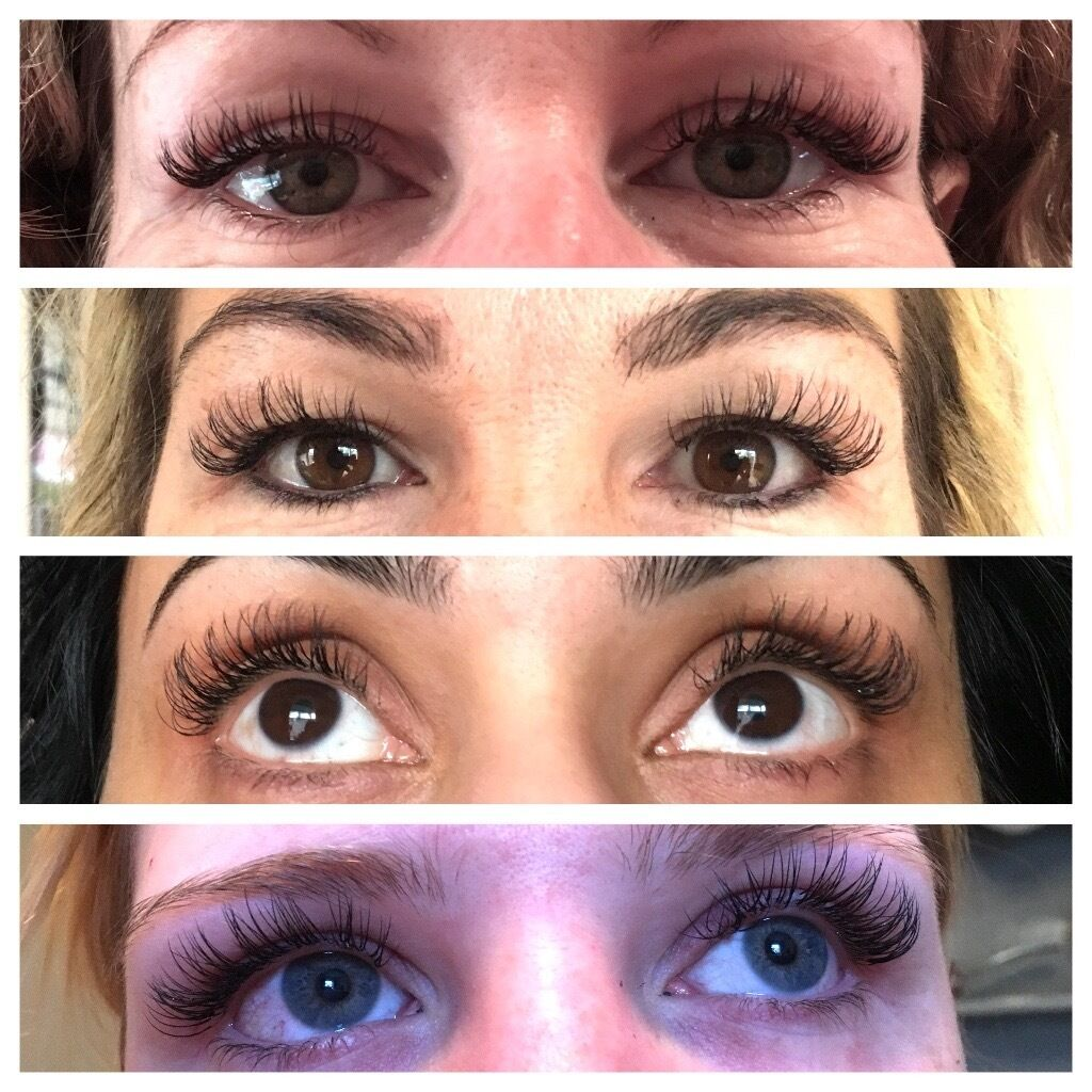40 Full Set Mobile Semi Permanent Eyelash Extensions Fully
