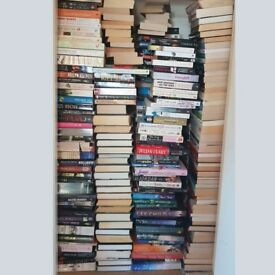 800+ Books - Various - Very good condition - many unread and as new - great for car boot / market