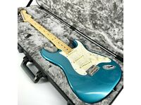 2017 Fender American Elite Stratocaster – Ocean Turquoise - Trades
