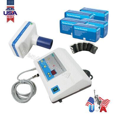 Dental Digital X-ray Imaging System Unit Mobile Low Dose Equipbarrier Envelopes