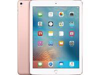 BRAND NEW IPAD PRO 9.7, WI-FI, 32GB, ROSE GOLD
