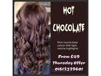 Hair Salon Cut Blowdry £20 Manchester