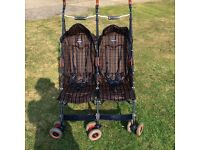 Maclaren double buggy for sale. Good clean condition £40
