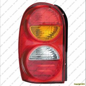Tail Light Driver Side High Quality Jeep Liberty 2002-2004