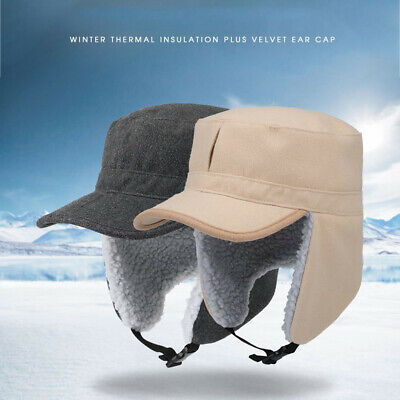 Winter Aviator Pilot Cap Earflap Hunting Trapper Hat - Cold Weather Ski Snow Hat Winter Ski Earflap