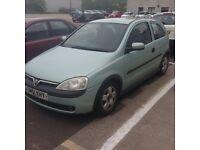 2001 1.7 CDTI Vauxhall Corsa swap or sell £400