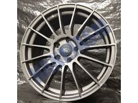F7* 4X NEW ALLOY WHEELS 18 INCH ALLOYS GREY FORD FOCUS MONDEO KUGA S MAX C MAX ST RS