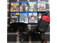PlayStation Vita PCH-1003 WiFi + 7 games, case and charger.