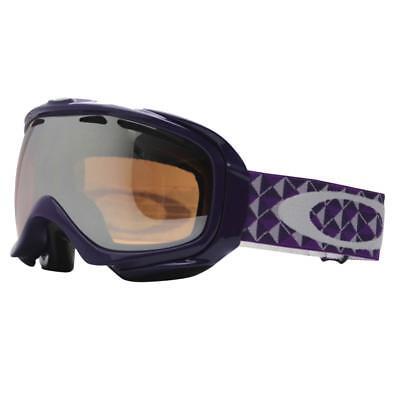 df0e950aa0 Oakley 57-366 ELEVATE Purple Studs w  Black Iridium Womens Snow Ski Goggles  .