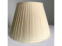 Large pleated lined lampshade lamp shade by Laura Ashley