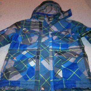 firefly ski coat size medium boys